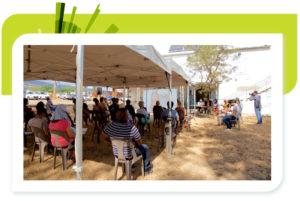 Retour en images : <br>la réunion publique du 1er août